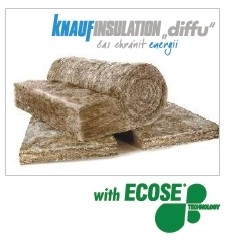 "Knauf Insulation ""diffu"", technologie ECOSE®"